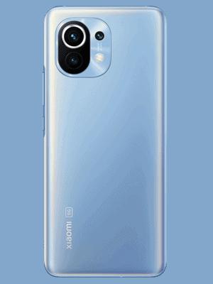 o2 - Xiaomi Mi 11 5G - blau (horizon blue) hinten