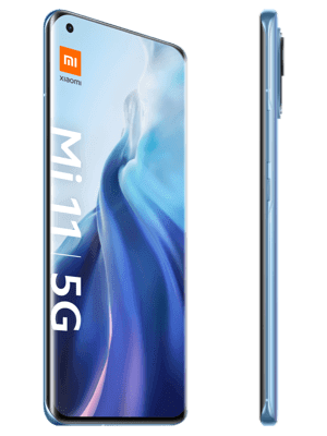 o2 - Xiaomi Mi 11 5G - blau (horizon blue) seitlich