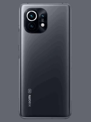 o2 - Xiaomi Mi 11 5G - grau (midnight gray) hinten