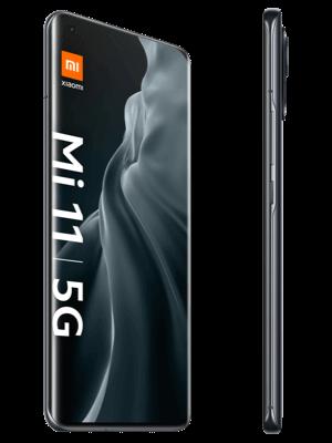 o2 - Xiaomi Mi 11 5G - grau (midnight gray) seitlich
