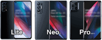 Oppo Find X3 Pro / Neo / Lite