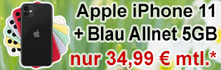 Apple iPhone 11 bei Blau.de