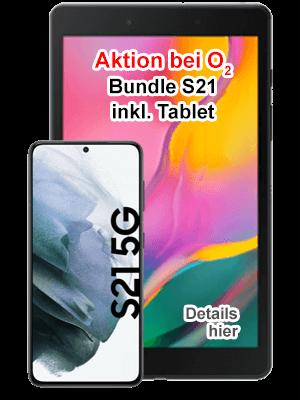 o2 Bundle - Samsung Galaxy S21 5G inkl. Tablet Galaxy Tab A8