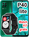 o2 - Huawei P40 lite mit gratis Watch Fit