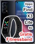 Blau.de - Oppo Find X3 lite 5G mit gratis Fitnessband