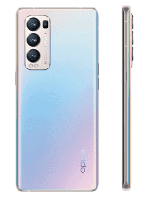 o2 - Oppo Find X3 Neo 5G - silber (galactic silver)