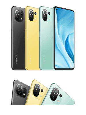 o2 - Xiaomi Mi 11 Lite 5G - Farben