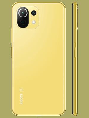 o2 - Xiaomi Mi 11 Lite 5G - gelb / Citrus Yellow