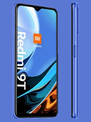 o2 - Xiaomi Redmi 9T - blau (seitlich)