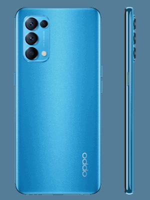 o2 - Oppo Find X3 Lite 5G - blau (astral blue)