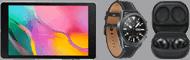 Samsung Galaxy Buds Pro, Watch 3 oder Tab A8