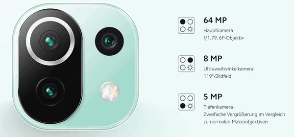 Kamera vom Xiaomi Mi 11 Lite 5G