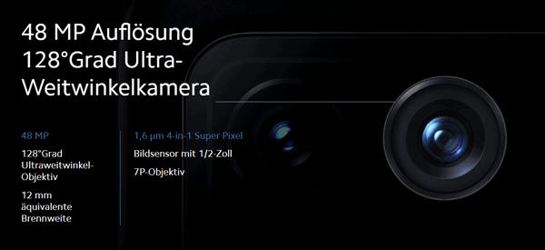 Weitwinkel-Kamera vom Xiaomi Mi 11 Ultra 5G