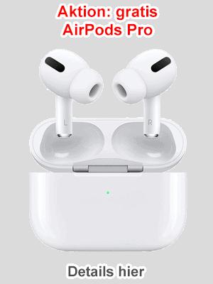 Apple AirPods Pro gratis