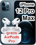 o2 - Apple iPhone 12 Pro Max mit gratis AirPods Pro