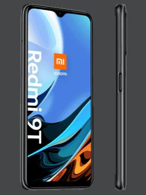 o2 - Xiaomi Redmi 9T - schwarz / grau (seitlich)