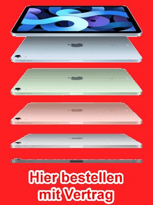 o2 - Apple iPad Air LTE (2020) - hier bestellen / kaufen