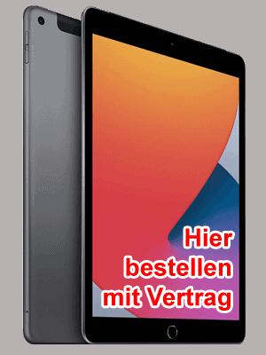 o2 - Apple iPad LTE (2020) - hier bestellen / kaufen mit Vertrag