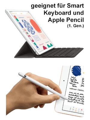 o2 - Apple iPad LTE (2020) - mit Smart Keyboard und Pencil