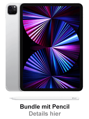 "o2 – Apple iPad Pro 11"" 5G mit Pencil"
