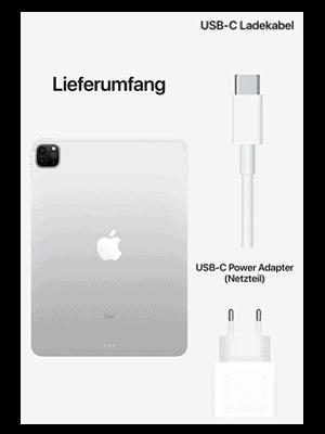 "o2 – Apple iPad Pro 12,9"" 5G - Lieferumfang"
