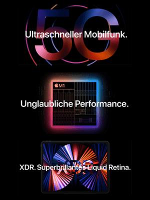 "o2 – Apple iPad Pro 12,9"" 5G - super Performance"