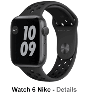 o2 - Apple Watch 6 - Alu Nike Edition - spacegrau