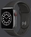 o2 - Apple Watch 6 - Alu Sport 40mm - spacegrau