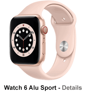 o2 - Apple Watch 6 - Alu Sport - gold