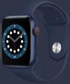 o2 - Apple Watch 6 - Alu Sport 44mm - blau
