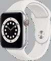 o2 - Apple Watch 6 - Alu Sport 44mm - silber