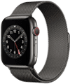 o2 - Apple Watch 6 - Edelstahl Milanaise 44mm - graphit