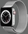 o2 - Apple Watch 6 - Edelstahl Milanaise 44mm - silber