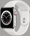 o2 - Apple Watch 6 - Edelstahl Sport 44mm - silber