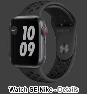 o2 - Apple Watch SE - Alu Nike 44mm - spacegrau