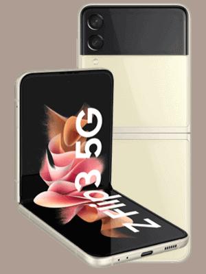 o2 - Samsung Galaxy Z Flip3 5G - cream (beige)