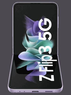 o2 - Samsung Galaxy Z Flip3 5G - aufgeklappt