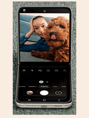 o2 - Samsung Galaxy Z Flip3 5G - Kamera