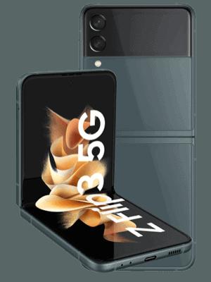 o2 - Samsung Galaxy Z Flip3 5G - green (grün)