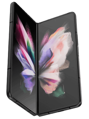 o2 - Samsung Galaxy Z Fold3 5G - aufgeklappt (Display innen)