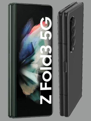 o2 - Samsung Galaxy Z Fold3 5G - zugeklappt / Display außen