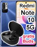 o2 - Xiaomi Redmi Note 10 5G mit Earbuds