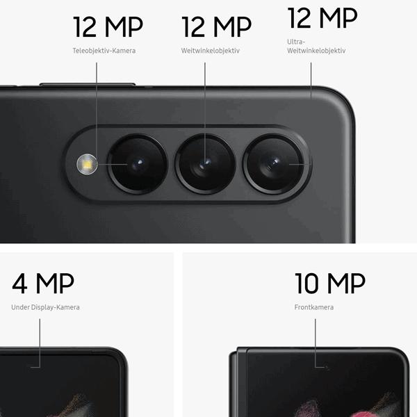 Kamera vom Samsung Galaxy Z Fold3 5G