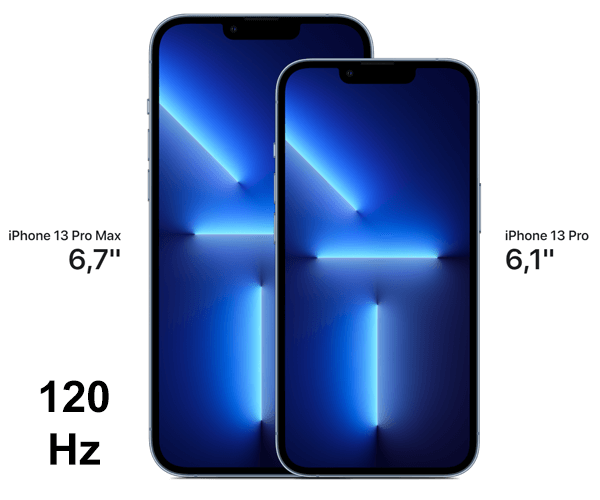 Display vom Apple iPhone 13 Pro