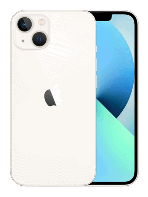 o2 - Apple iPhone 13 - weiß / polarstern