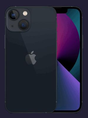 o2 - Apple iPhone 13 mini - schwarz / mitternacht