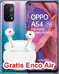 o2 - Oppo A54 5G mit gratis Enco Air Kopfhörer