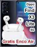 o2 - Oppo Find X3 lite 5G mit gratis Enco Air Kopfhörer